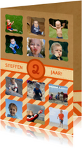 12 maanden Karton Oranje