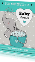 Babyshower olifant badje IH