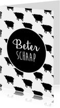 Beterschapskaarten - Beterschaap toegewenst!