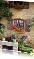 Bloemen Frankrijk huis