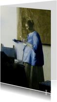 Brieflezende vrouw - J. Vermeer