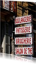 Close up Franse Boulangerie - OT