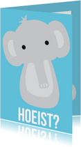 Dierenkaart Hoeist Olifant