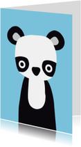 Dierenkaart Pandabeer