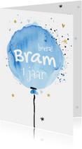 Kinderfeestjes - Eerste verjaardag - ballon