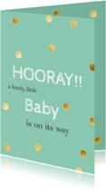 Felicitatiekaarten - felicitatie Baby on the way