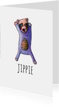Felicitatiekaarten - felicitatie-jippie-kk