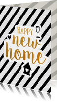 Felicitatie - new home gold