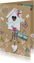 housewarming vogelhuis