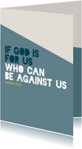If God is for us - BF