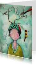 Kunstkaarten - Inspiratiekaartje