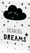 "Kaart ""Dream big dreams"" - WW"