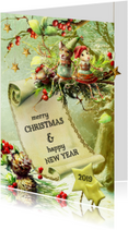 Kerstkaarten - Kerstkaart - Lovely Christmas Card 2019