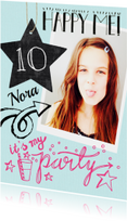 Kinderfeestje party Nora