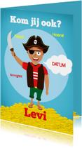 Kinderfeestje piraat!