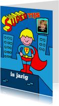 kinderfeestje superman blond