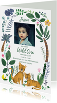Kinderfeestje Wild One tijgers