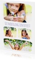 Lentefeest collage 4 foto's - BK