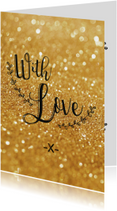 Liefde kaart With love - BF