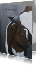 Moeder koe en kalfje
