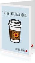 NESCAFÉ: better latte than never