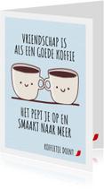 NESCAFÉ: vriendschap is als een goede koffie