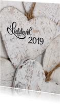 Nieuwjaarskaart Liefdevol 2019