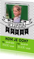Kinderfeestjes - Pyjama Party - jongen/meisje EM