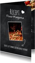 Recept voor pizza Margarita-isf
