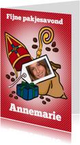 Sinterklaaskaarten - Sinterklaas - pakjesavond