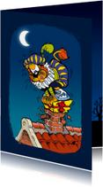 Sinterklaaskaarten - Sinterklaas uitnodiging van Piet