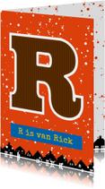 Sinterklaaskaart choco R