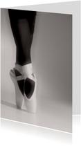 Verjaardagskaarten - Spitzen  ballet