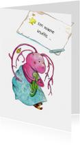 Sterkte kaarten - Sterktekaart Warme knuffel !