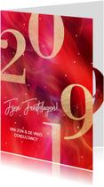Stijlvolle zakelijke kerstkaart 2019