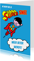 Beterschapskaarten - supersnel beterschap