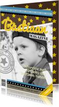 Tijdschriftkaart Ster Blauw 1LS3