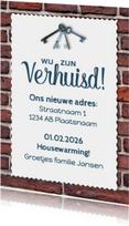 Uitnodiging Housewarming - DH