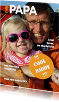 Vaderdagkaart - cool daddy 4 - OT