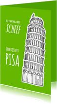 Vakantiekaart Italie - Pisa - SG