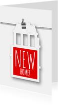 Verhuisbericht label huis