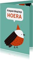 Verjaardagskaarten - Verjaardag Vogel