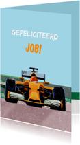 Verjaardagskaarten - Verjaardagskaart Formule 1