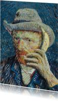 Kunstkaarten - Vincent van Gogh met banaan