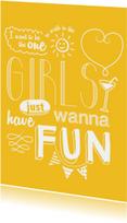 Vriendinnenkaart Girls Fun
