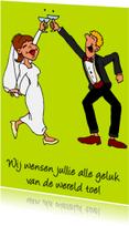 Felicitatiekaarten - vrolijke gelukwens huwelijk - SZ