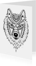 Woonkaarten - Woonkaart Wolf