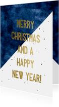 Zakelijke kerstkaart  Merry Christmas and a happy New year