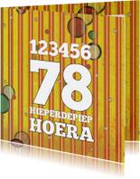 123456 Hieperdepiep Hoera 78 - SG