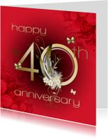Felicitatiekaarten - 40 jaar huwelijk